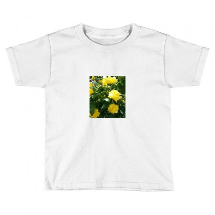 Yellow Roses In A Bush Toddler T-shirt Designed By Thoughtcloud