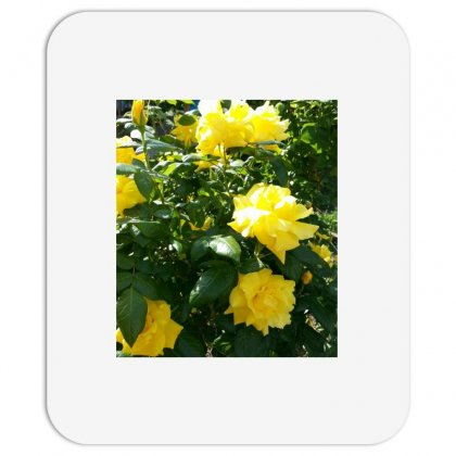 Yellow Roses In A Bush Mousepad Designed By Thoughtcloud