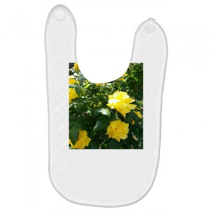Yellow Roses In A Bush Baby Bibs Designed By Thoughtcloud