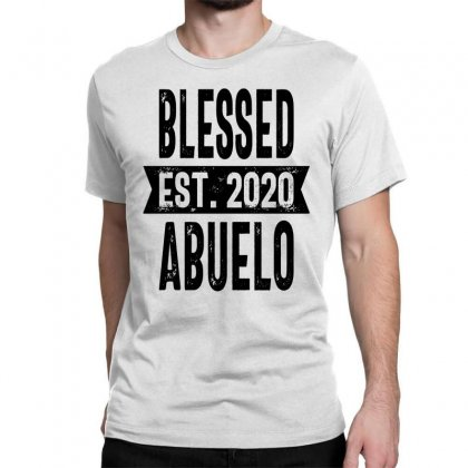 Blessed Est. 2020 Abuelo Grandpa Gift Classic T-shirt Designed By Cidolopez