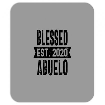 Blessed Est. 2020 Abuelo Grandpa Gift Mousepad Designed By Cidolopez