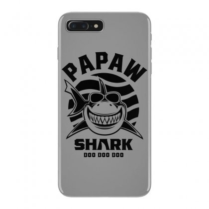 Mens Papaw Shark Father Grandpa Gift Iphone 7 Plus Case Designed By Cidolopez
