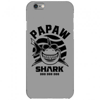 Mens Papaw Shark Father Grandpa Gift Iphone 6/6s Case Designed By Cidolopez