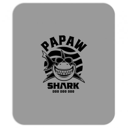 Mens Papaw Shark Father Grandpa Gift Mousepad Designed By Cidolopez