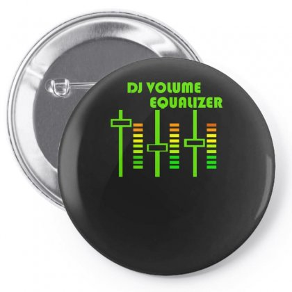 Dj Volume,funny Pin-back Button Designed By Nugraha