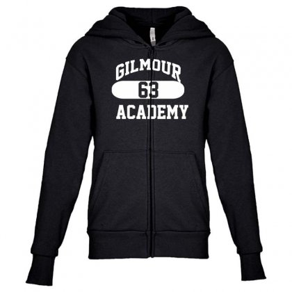 Gilmour Academy   As Worn By Dave   Pink Floyd   Mens Music Youth Zipper Hoodie Designed By Nugraha