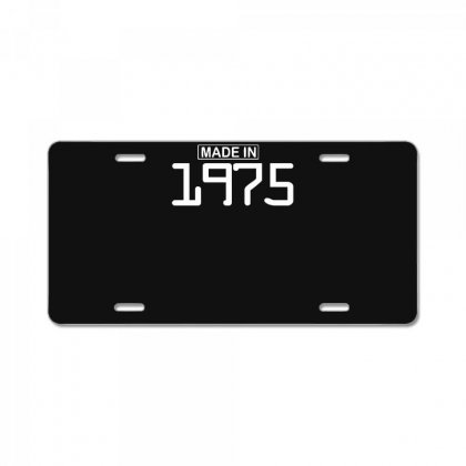 Made In 1975 Birthday Celebration Funny Party License Plate Designed By Nugraha
