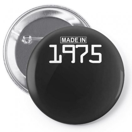 Made In 1975 Birthday Celebration Funny Party Pin-back Button Designed By Nugraha