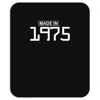 Made In 1975 Birthday Celebration Funny Party Mousepad Designed By Nugraha