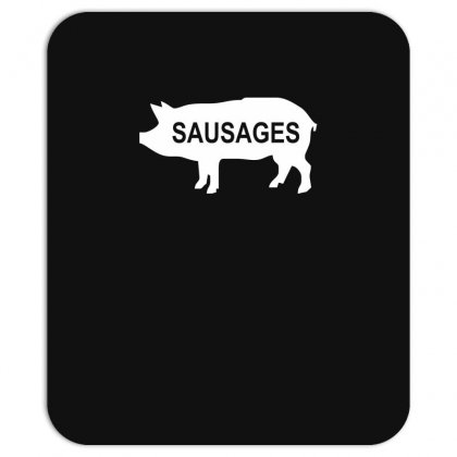 Pig Sausages Funny Mousepad Designed By Nugraha