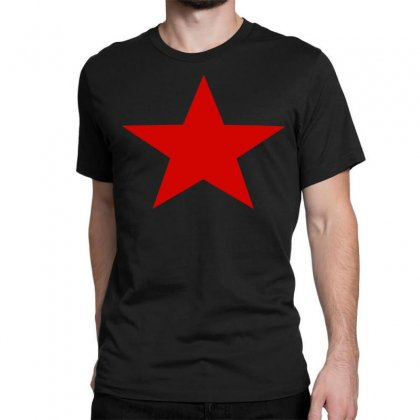 Red Star Army Classic T-shirt Designed By Nugraha