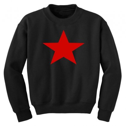 Red Star Army Youth Sweatshirt Designed By Nugraha