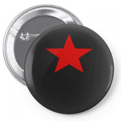 Red Star Army Pin-back Button Designed By Nugraha