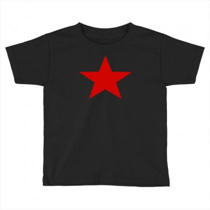 Red Star Army Toddler T-shirt Designed By Nugraha