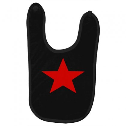 Red Star Army Baby Bibs Designed By Nugraha