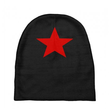 Red Star Army Baby Beanies Designed By Nugraha