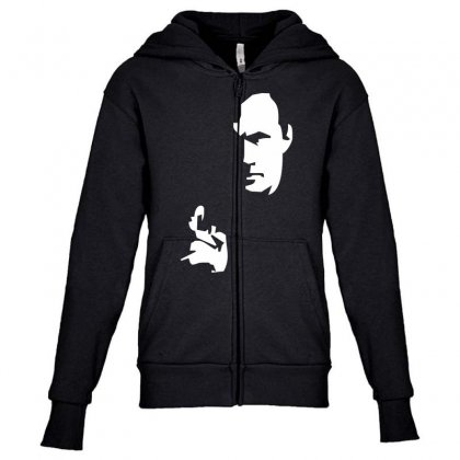 Steven Seagal   High Quality Youth Zipper Hoodie Designed By Nugraha