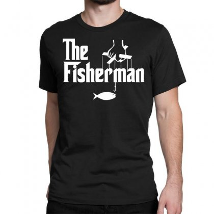 The Fisherman Classic T-shirt Designed By Nugraha