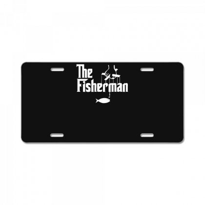 The Fisherman License Plate Designed By Nugraha