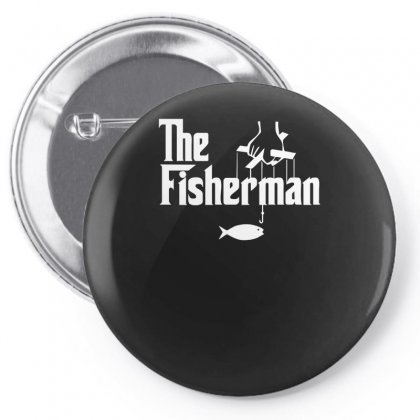 The Fisherman Pin-back Button Designed By Nugraha