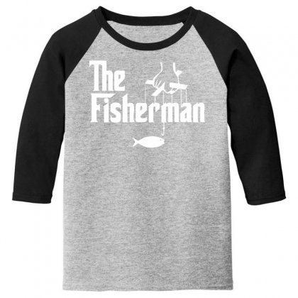 The Fisherman Youth 3/4 Sleeve Designed By Nugraha