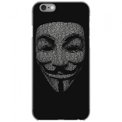 V For Vendetta Mask Guy Fawkes Cool Girls Womens Cotton T Shirt Dw01 Iphone 6/6s Case Designed By Nugraha