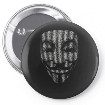 V For Vendetta Mask Guy Fawkes Cool Girls Womens Cotton T Shirt Dw01 Pin-back Button Designed By Nugraha