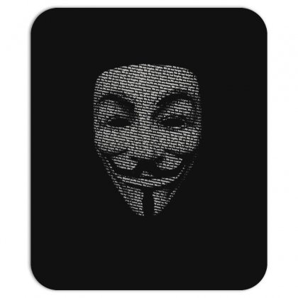 V For Vendetta Mask Guy Fawkes Cool Girls Womens Cotton T Shirt Dw01 Mousepad Designed By Nugraha