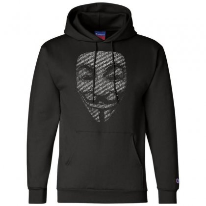 V For Vendetta Mask Guy Fawkes Cool Girls Womens Cotton T Shirt Dw01 Champion Hoodie Designed By Nugraha