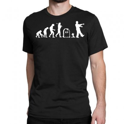 Zombie Evolution Classic T-shirt Designed By Nugraha