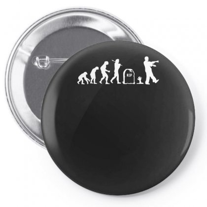 Zombie Evolution Pin-back Button Designed By Nugraha