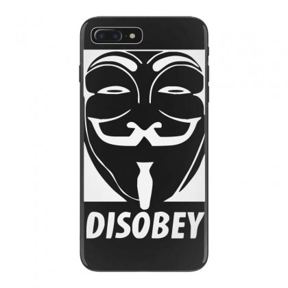 Disobey Anonymous Anon Vendetta Iphone 7 Plus Case Designed By Nugraha