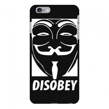 Disobey Anonymous Anon Vendetta Iphone 6 Plus/6s Plus Case Designed By Nugraha