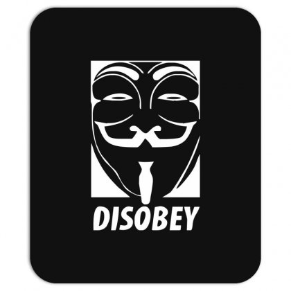 Disobey Anonymous Anon Vendetta Mousepad Designed By Nugraha
