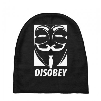 Disobey Anonymous Anon Vendetta Baby Beanies Designed By Nugraha