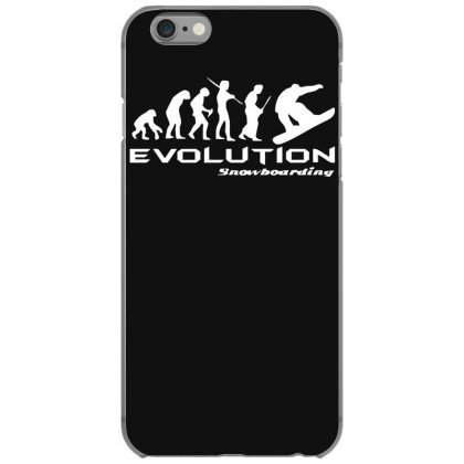 Evolution Of Snowboarding Funny Iphone 6/6s Case Designed By Nugraha