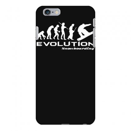 Evolution Of Snowboarding Funny Iphone 6 Plus/6s Plus Case Designed By Nugraha