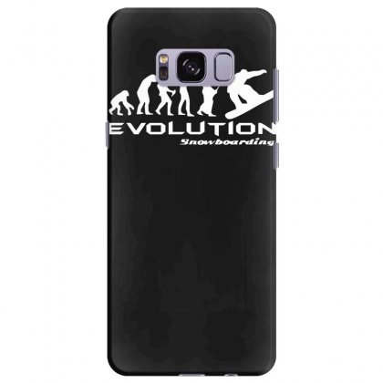 Evolution Of Snowboarding Funny Samsung Galaxy S8 Plus Case Designed By Nugraha