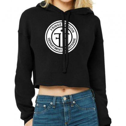 Fringe Division Cropped Hoodie Designed By Nugraha