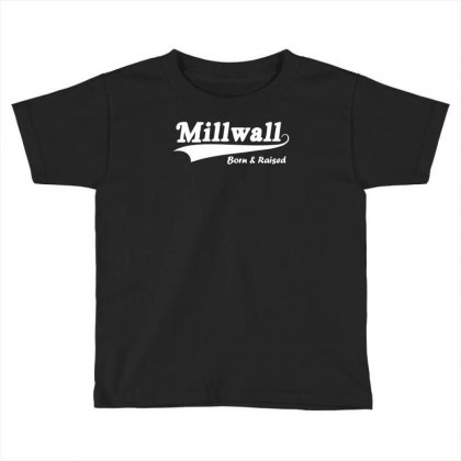 Millwall Born And Raised Retro Toddler T-shirt Designed By Nugraha