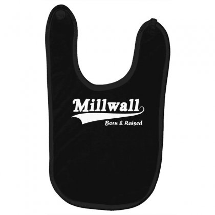 Millwall Born And Raised Retro Baby Bibs Designed By Nugraha