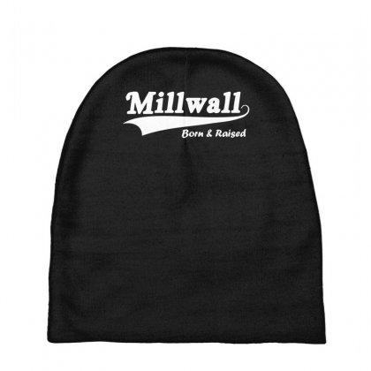 Millwall Born And Raised Retro Baby Beanies Designed By Nugraha