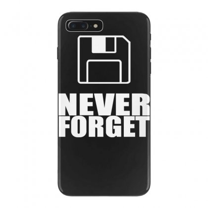 Never Forget 3.5 Floppies Iphone 7 Plus Case Designed By Nugraha