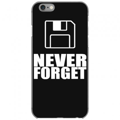 Never Forget 3.5 Floppies Iphone 6/6s Case Designed By Nugraha