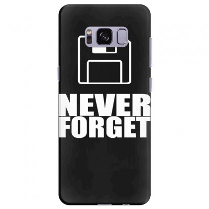 Never Forget 3.5 Floppies Samsung Galaxy S8 Plus Case Designed By Nugraha