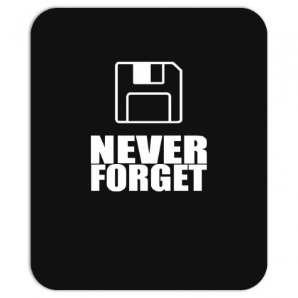 Never Forget 3.5 Floppies Mousepad Designed By Nugraha