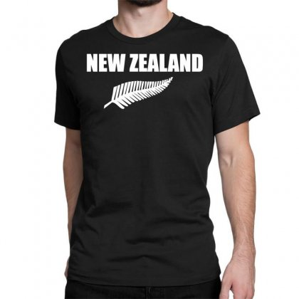 New Zealand Classic T-shirt Designed By Nugraha