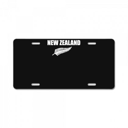 New Zealand License Plate Designed By Nugraha
