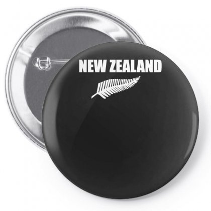 New Zealand Pin-back Button Designed By Nugraha