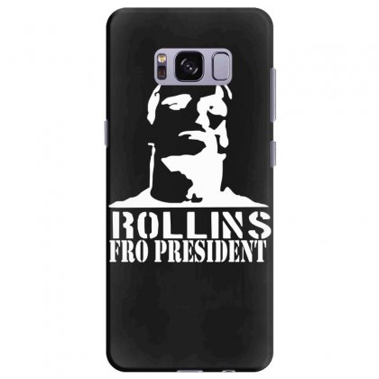 Rollins For President Samsung Galaxy S8 Plus Case Designed By Nugraha